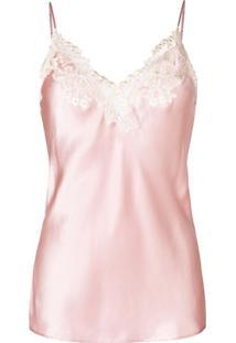 La Perla Blusa De Pijama 'Maison' - Rosa