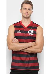 Regata Flamengo I 19/20 Torcedor Adidas Masculina - Masculino