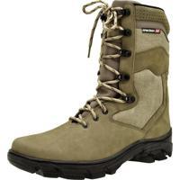 Coturno Bege Militar masculino   Shoes4you 7e05e74f09