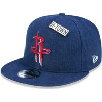 92e22693f Boné 950 Houston Rockets Nba Aba Reta Snapback New Era - Masculino