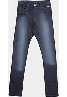 Calça Jeans Tigor Estonada Infantil - Masculino