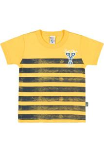 ec2995612f Camiseta Infantil Pulla Bulla Primeiros Passos Meia Malha Masculino -  Masculino