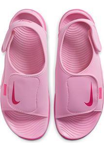 Sandália Infantil Nike Sunray Adjust 5 V2 - Masculino-Rosa Claro+Pink
