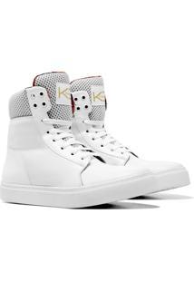 Sneaker K3 Fitness Bland Branco