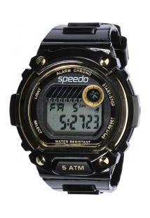 962a6feae1f Relógio Analógico Speedo 81133L0 - Feminino - Preto Ouro