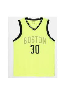 Regata Esportiva Boston 30 Neon | Get Over | Amarelo | M