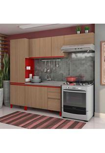 Cozinha Compacta New Urban I 8 Pt 3 Gv Nature E Marsala