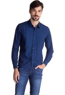 Camisa Levis Pieced Pacific No Pocket - Xl