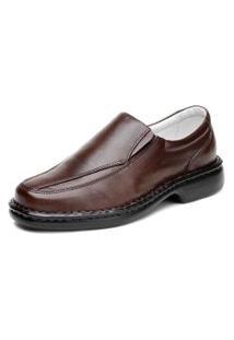 Sapato Ranster Comfort Palmilha Gel Marrom
