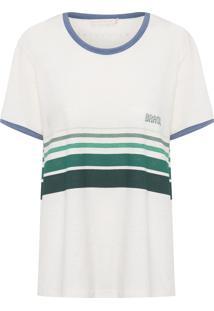 Camiseta Feminina Apito - Off White