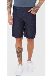 Bermuda Jeans Hurley Reta Work Azul
