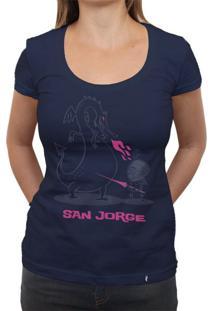 San Jorge - Camiseta Clássica Feminina