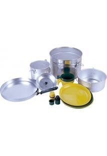Conjunto De Panelas Nautika 301300 Cook Para Até 4 Pessoas Prata