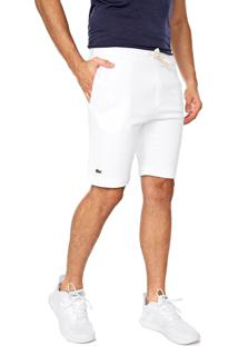 Bermuda Lacoste Reta Lisa Off-White