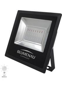 Refletor Led Slim 50W Bivolt Branco Frio 6000K - 74506000 - Blumenau - Blumenau