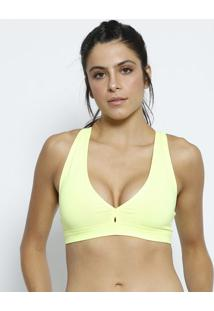 Top Nadador Com Bojo - Amarelo Neon - Graphenegraphene