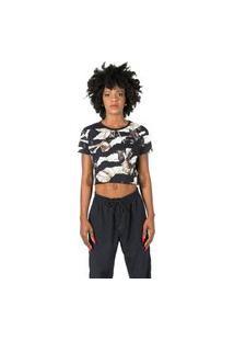 Camiseta Blunt Feminina Bird Preto Cami