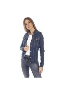 Jaqueta Jeans Denim Zero Regular Com Elastano