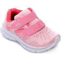 0ddc588175 Netshoes. Tênis Infantil No Stress Running Velcro - Feminino
