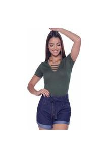 Camiseta D Bell Verde