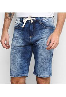 Bermuda Jeans Hd Masculina - Masculino