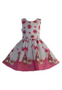 Vestido Katitus Juvenil Paris Pink