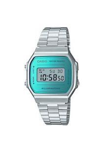 Relógio Feminino Casio A168Wem-2Df-Sc Digital | Casio | Prata | U
