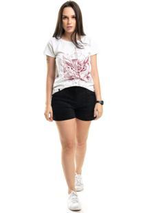 T-Shirt Nogah Coruja Branca
