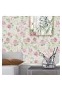 Papel De Parede Autocolante Rolo 0,58 X 3M Floral 97213736