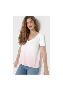 Camiseta Gap Tie-Dye Rosa/Branca
