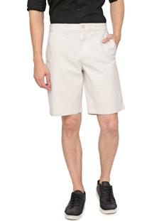 Bermuda Sarja Gap Chino Color Off-White