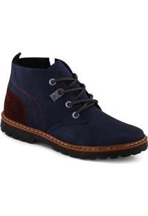 Bota Strikwear Masculina - Masculino-Azul