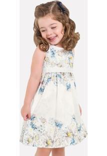Vestido Infantil Milon Tafetá 11709.6826.P