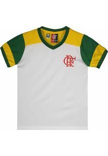 Camisa Brasil Flamengo Retrô Infantil - Masculino