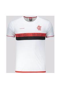 Camisa Flamengo Approval Infantil Branca