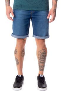 Bermuda Jeans Masculina Max Denim Azul - 38