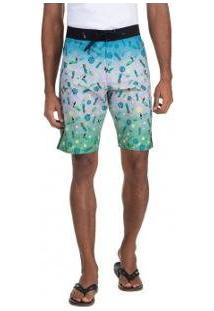 Bermuda Oakley Tropical Big Pattern Masculina - Masculino