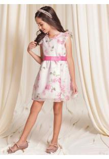 Vestido Malha Tulist Rosa