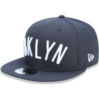 Boné 950 Brooklyn Nets Nba Aba Reta Snapback New Era - Masculino 987e576b1a6