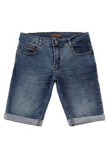 Bermuda Jeans Reduzy Masculina