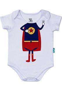 Body Jokenpô Bebê Super Jok Branca