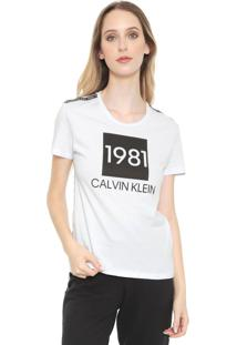 Camiseta Calvin Klein Underwear Lounge Branca
