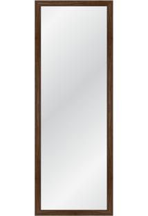 Espelho Decorativo Industrial L 135X55 Nogueira