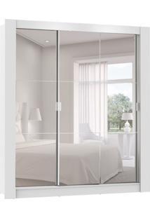 Guarda-Roupa Casal Live I Com Espelho 3 Pt 2 Gv Branco