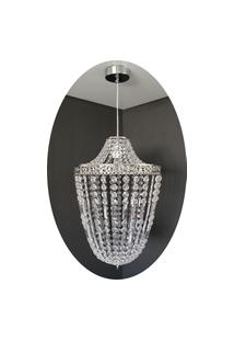 Lustre Pendente Cristal Acrílico 36X150 Lina Design Ac77