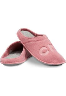 Chinelo Crocs Logo Slipper - Unissex