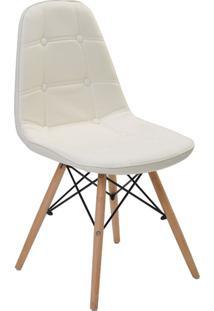 Cadeira Sem Braço Eiffel Botone-Rivatti - Branco