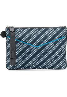 Givenchy Clutch Com Estampa De Logo - Azul