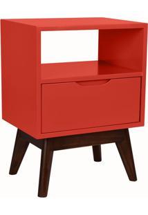 Mesa De Cabeceira On 1 Gv Vermelha E Preta