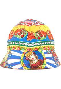 Dolce & Gabbana Kids Chapéu Estampado
